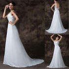 STOCK Long Evening Bridesmaid Party Wedding Formal Pageant Gowns Prom Dress 2016