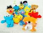 Sesame Street Set Lot Cuddly Soft Toy Plush Teddy Bundle Bert Ernie Elmo & More
