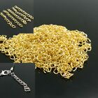 Wholesale 100PC 5cm Extended Extension Jewelry Chains Tail for Necklace Bracelet
