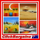 GENUINE HAND PAINTED WALL ART DECOR OIL PAINTING on CANVAS (60x50cm) LANDSCAPE 1