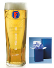 Fosters Personalised 1 Pint Lager Branded glass + Box Birthday Wedding Christmas
