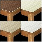 LUXURY THICK ANTI SLIP FELT BACK SCRATCH HEAT RESISTANT TABLE PROTECTOR CLOTH