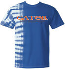 Blue Tie-Dye Gator Greek Men's Shirt