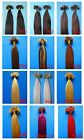 """NAIL TIP HUMAN HAIR EXTENSIONS 100S 16""""18""""20""""22""""24""""26"""" straight curly body wavy"""