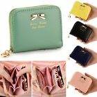 Womens Clutch Bowknot Cute Wallet Card Holder Small Bags Patent Leather Purse