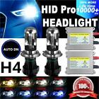 hid bulb kits - 55W Hi/Lo Bi-XENON HID Conversion Kit H4 5K 6K 8K 10K Headlight Bulbs DSV 2X