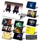 "Pokemon GO Painting Hard Case Cover  For Macbook Pro Air 11""13""15"" Retina 12""+KB"
