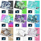 """Rubberized Hard Case Marble Painting Cover for Macbook Pro Air 11""""/13""""/15""""+KB+SP"""