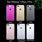 Soft Ultrathin Clear TPU Case For iPhone 7 Plus Pro Cover Transparent Back Cases