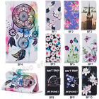 Fashion Magnetic Flip Pattern Hybrid Stand PU Leather Cover TPU Case BF