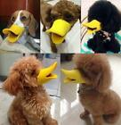 Cute Pet Dog Puppy 3d Muzzle Duck Lip Mouth Guard Protection Mask Anti-barking G