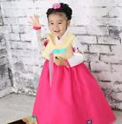 Girl Hanbok Korean traditional Dress Korea Baby 1st birthday Party Yellow Red