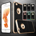 Brushed Rugged Ultra-Slim Soft TPU Protective Case Cover for iPhone 5S 6 6S Plus