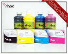 Refillable Cartridge Set for Canon Maxify MB5060 + Rihac Pigment 500ml Ink 2600