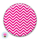 Personalised CHEVRON Compact/Handbag Pocket Mirror (58mm) Gift/Wedding Favour