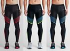 New Nike Dri-Fit Men\'s POWER SPEED Compression Red Blue Tights, Size M XL
