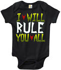 Baby Bodysuit - I Will Rule You All Baby Clothes for Boys and Girls Invader Zim
