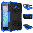 Heavy Tough Shockproof Stand Hard Armor Case Cover For Samsung Galaxy J1 Ace &J2