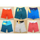 NWT Gymboree Toddler Boy Shorts Many Colors and Sizes Red Blue Gray Green Orange