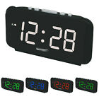 Large Home Digital LED Display Wall Desk Table Alarm Clock 1.8 Inches AC110-240V