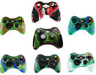 1Pc Camouflage Silicone Controller Skin Protective Cover For Microsoft Xbox 360