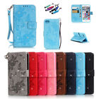 Luxury Diamond Degine Flip Stand Card Wallet Leather Case Cover For iPhone 7 HOT