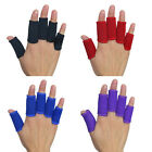 10Pcs Kuangmi Stretchy Finger Sleeves Support Wrap Arthritis Guard Best VNC
