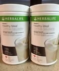 NEW 2X HERBALIFE FORMULA 1 HEALTHY MEAL SHAKE MIX MULTI FLAVORS TO CHOOSE