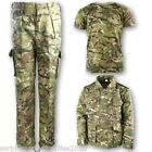 BOYS ARMY OUTFIT CAMO TROUSERS T-SHIRT PADDED COAT SOLDIER DRESS UP KIDS BTP