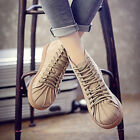 Women's Shoes Lace-up Casual Fashion Ankle Boots Slip Resistance Free Shipping