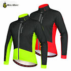 Mens Windproof Cycle Coat Cycling Jersey Winter Thermal Fleece Bicycle Jackets