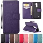 Wallet W/strap Cards Stand Flip Leather Cover Case For LG K4/K8/K10/Tribute 5 K7