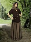 Renaissance French Dress  Medieval Maiden Dress Shawl Clothing Costume