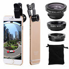iphone 5 camera lenses reviews - for iPhone 7 / 7 Plus 6S 3 in1 Fish Eye+ Wide Angle + Macro Camera Clip-on Lens