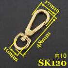 FixedPrice2x solid brass rotatable fastener d ring leathercraft luggage accessor bag parts