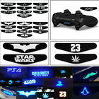 10Pcs Light Bar Cover Sticker Skin Decoration For Playstation 4 PS4 Controller