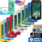 Fingerprint ID Waterproof Life proof Case Cover For Apple iPhone 7 7S 6 6S Plus