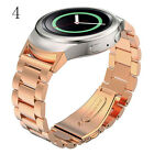 Stainless Steel Watch Band + Connector for Samsung Galaxy Gear S2 SM-R720