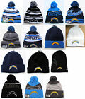 San Diego Chargers Cuffed Beanie Winter Cap Hat NFL Authentic