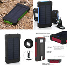 POWERNEWS Waterproof 500000mAh Portable Solar Charger 2USB Battery Power Bank RT