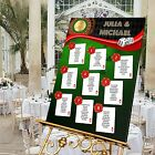 Personalised Wedding Table Seating Plan-CASINO THEME-4 SIZES AVAILABLE