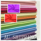 NEW Poly Cotton N Dressmaking Quilting Fabric Material Patchwork