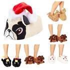 Character Novelty Fun Animal Soft Warm Funny Big Slippers Ladies ​Mens Kids New​