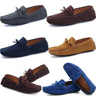 Fashion Mens Casual Slip On Loafers Suede Leather Shoes Driving Moccasins Flats