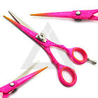 Professional Hairdressing Scissors Shears Hair Cutting Salon Razor Sharp Pink