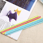 100/50x Kids Adult Paper Straws Wave Drinking Water Straw Party Wedding Birthday