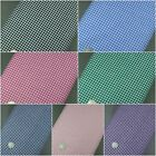 """Gingham Polycotton Fabric 1/8"""" Check 45"""" Wide 114cm High Quality Fabric"""