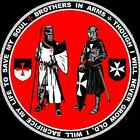 Brothers in Arms Knights Templar & Hospitaller Seal Shirt