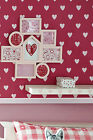 Next Pink Heart Wallpaper Sealed X2 684310 Batch 5 Girls Bedroom Discontinued