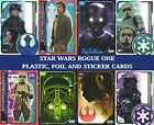 Topps Star Wars ROGUE ONE Trading cards - Plastic card, Sticker cards and Foils £0.99 GBP